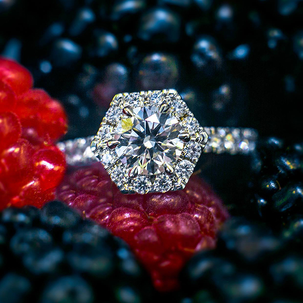hearts on fire halo engagement rings new york