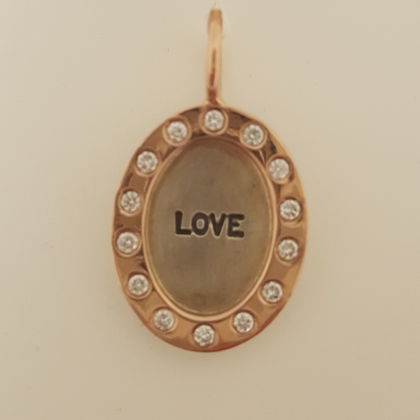 "Heather Moore ""Love"" Charm by Heather Moore"
