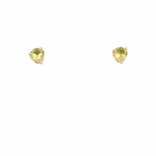 eb7eea541f2ac Next Generation 4 mm Peridot Birthstone Stud Earrings (August)