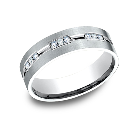 Men S Wedding Bands Next Generation Diamond Comfort Fit Band