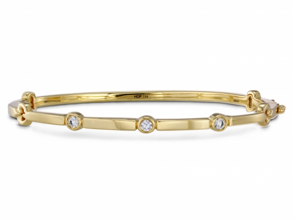 Hearts on Fire Copley Multi Stone Bangle by Hearts on Fire