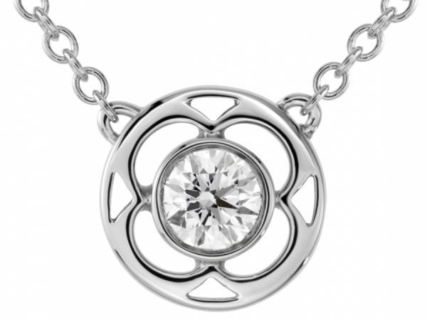 Hearts on Fire Copley Single Diamond Pendant by Hearts on Fire