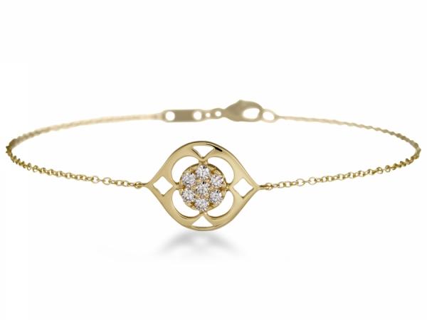 Diamond Bracelets Hearts On Fire Copley Single Station Bracelet