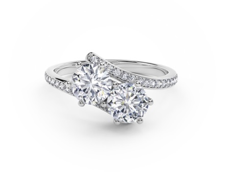 Forevermark Ever Us Two Stone Ring by Next Generation