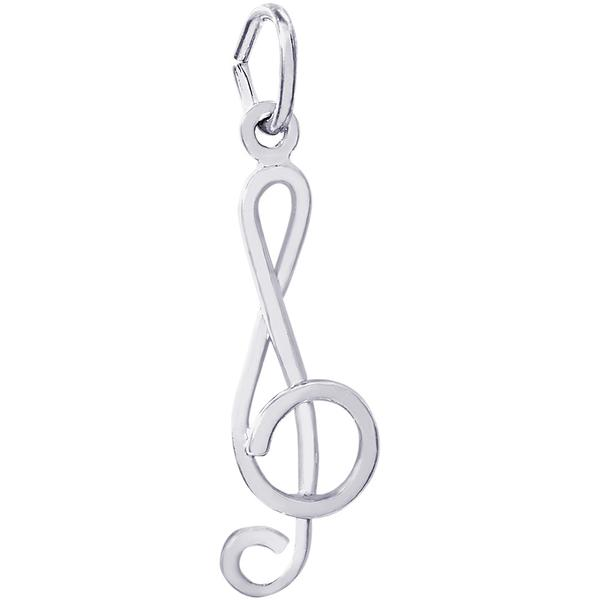 Rembrandt Treble Clef Charm by Rembrandt Charms