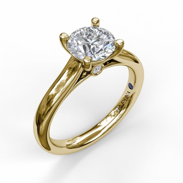 Next Generation Diamond Solitaire Engagement Ring by Next Generation