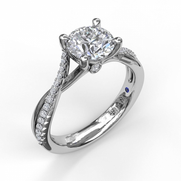 Next Generation Diamond Twist Engagement Ring by Next Generation