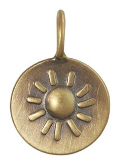 Heather Moore Sun Charm by Heather Moore