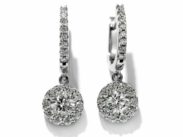 Hearts on Fire Fulfillment Diamond Drop Earrings by Hearts on Fire