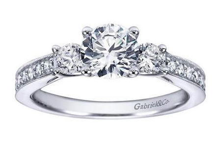 three-stone diamond rings and anniversary rings syracuse new york