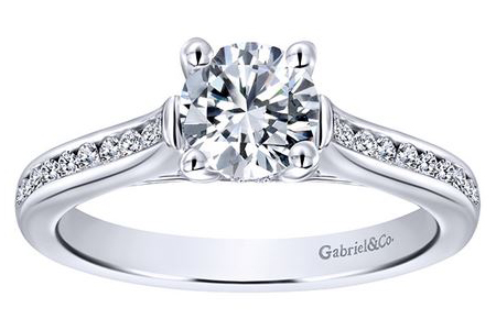 cathedral diamond engagement rings syracuse new york